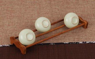 【Art in THE】天然竹茶架 孟宗竹手工製作單層竹製茶杯架 功夫茶杯架 茶道用具