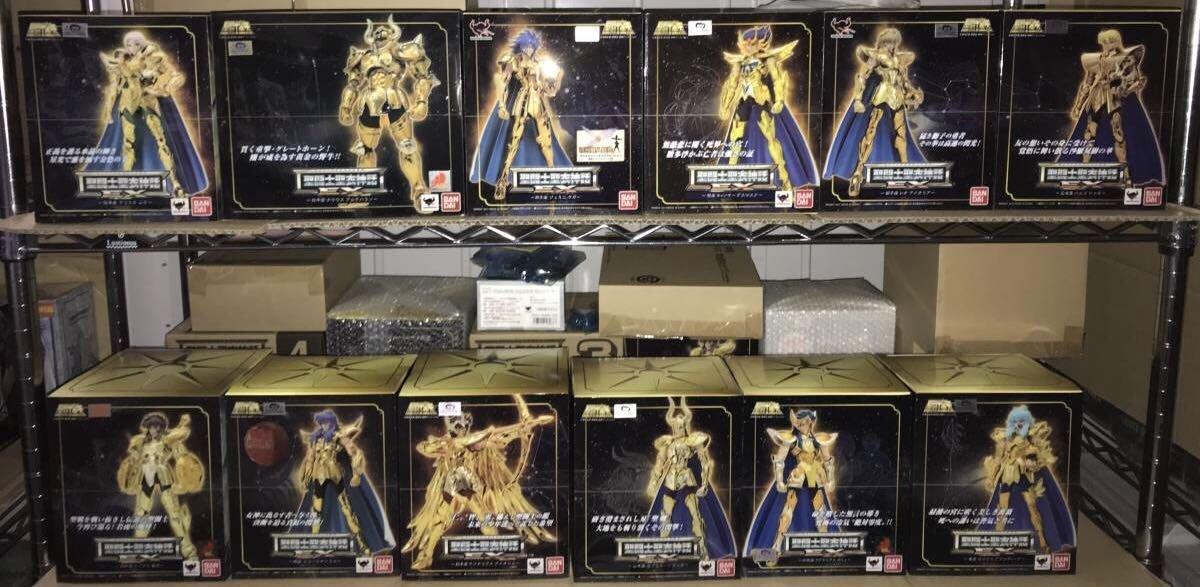 現貨 日初版 聖衣神話 EX 黃金聖衣 黃金聖鬥士 12宮 十二星座 大全套 車田正美