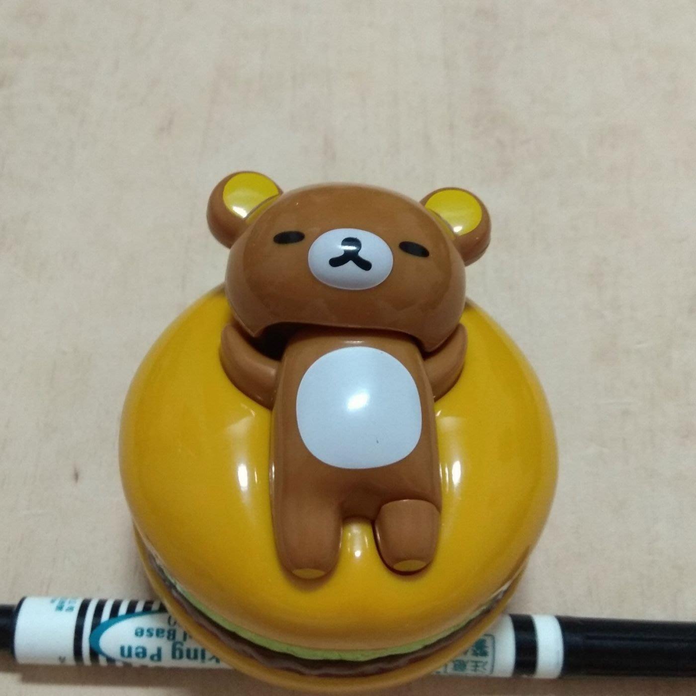 漢堡 拉拉熊 懶懶熊 公仔 玩具