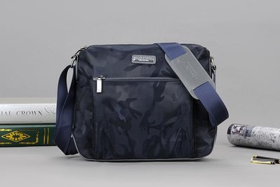 英國名牌 BEIXIDENG 男士防水迷彩牛津布包 斜挎包 大容量帆布包 運動休閒側背包
