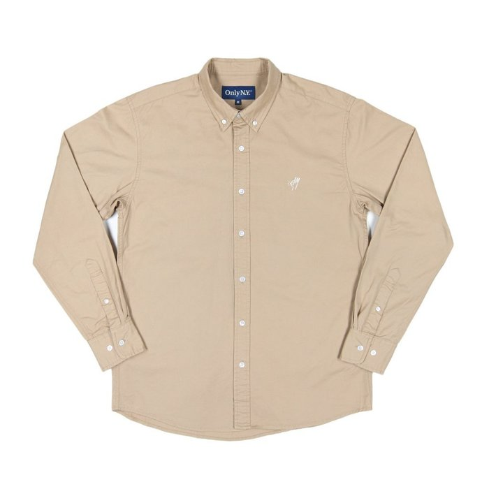 《Nightmare 》ONLY NY OK Cotton Twill Shirt Sand