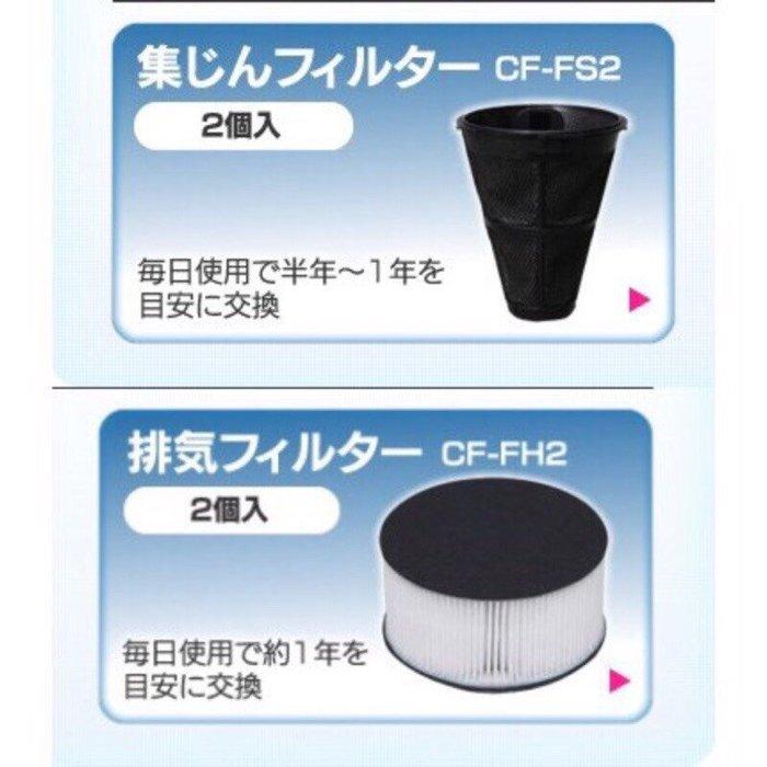 日本原廠 IC-FAC2 OHYAMA 濾網一組+集塵袋一組