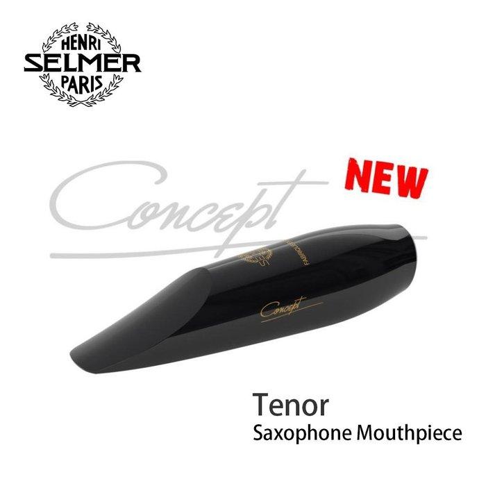 【現代樂器】現貨免運!法國Selmer Concept Alto Sax Mouthpieces 中音薩克斯風 古典吹嘴