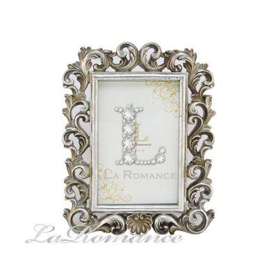 【芮洛蔓 La Romance】 Ariani 歐式圖騰古銀4 x 6 相框 - 小 / 相本照片紀念日結婚禮物