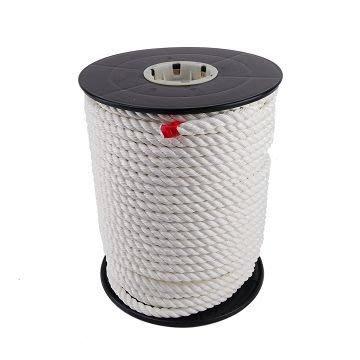 【TRENY直營】台灣製造 特多尼龍繩4分白色1尺(300尺/捲) 特多尼龍繩 PE繩 尼龍繩