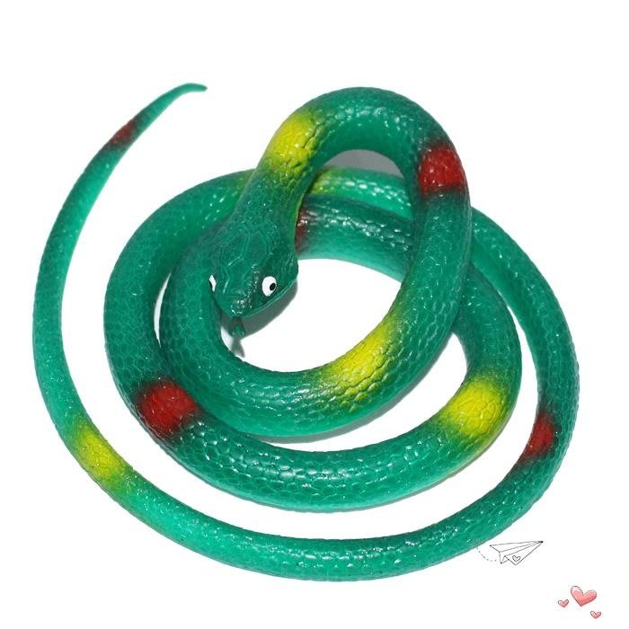 兒童仿真動物模型玩具套裝超大號軟膠仿真蛇環保無毒假蛇整人玩具