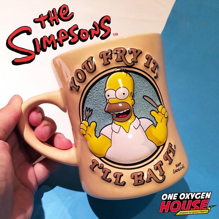 美國代購 環球影城 辛普森 荷馬 馬克杯 陶瓷杯 水杯 甜甜圈 立體杯 3D杯 辛普森家庭 環球