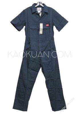 【高冠国际】Dickies 33999 Short Sleeve Coverall 短袖 连身工作服 深蓝 DN