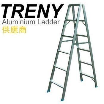 【TRENY直營】6階鋁製輕型梯 6A 扶手梯 工作梯 手扶梯 一字梯 A字梯 梯子 家庭必備 6858