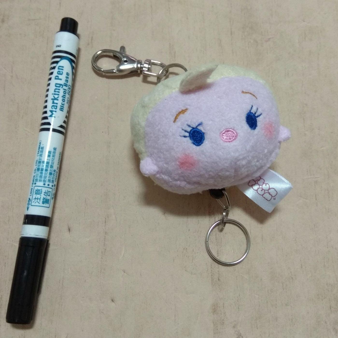 迪士尼 Tsum tsum 冰雪奇緣 娃娃 玩偶 伸縮繩 吊飾