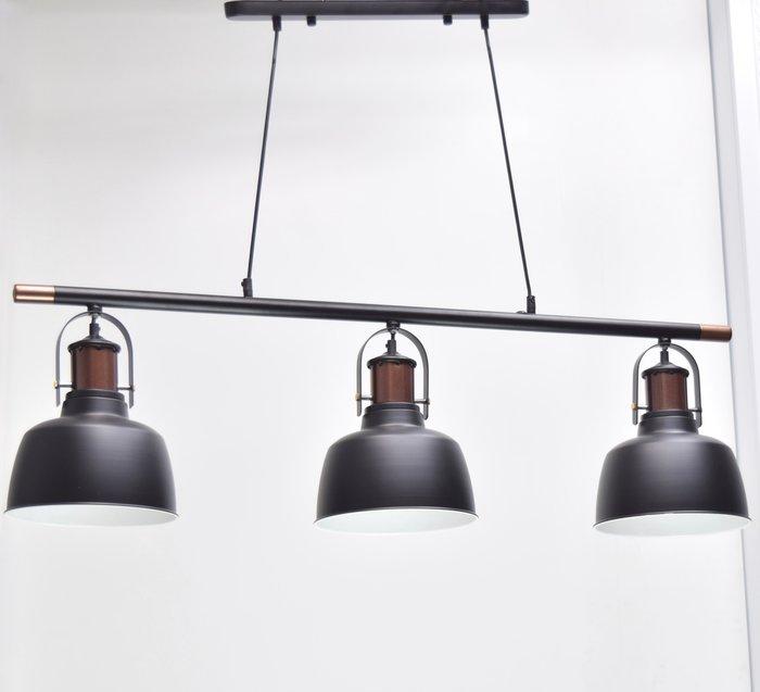 英倫復古三燈頭吊燈-BNL00125