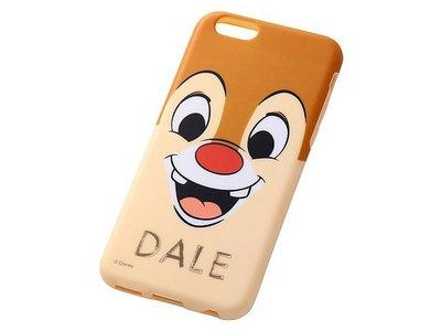 尼德斯Nydus~* 日本 迪士尼 花栗鼠 奇奇&蒂蒂 軟殼 手機殼 大臉款-蒂蒂 4.7吋 iPhone6