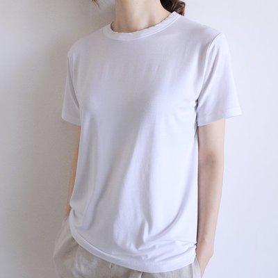 girlmonster 正韓 涼感柔軟T-shirt  (白/黑/粉/綠/紫/芥末) 【A0216】超級推薦舒服款