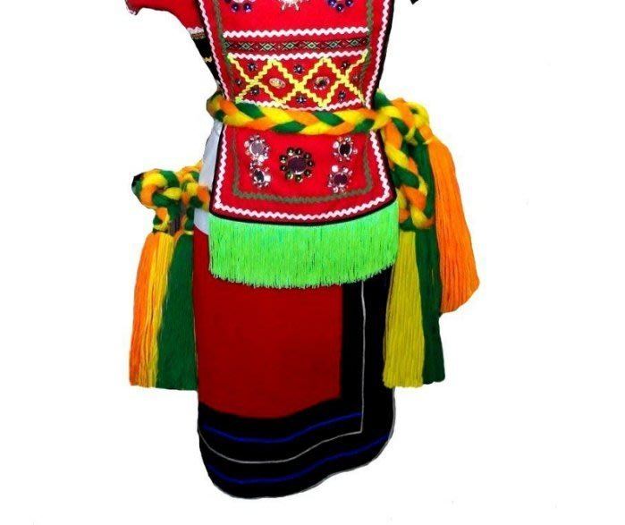 原住民手工藝品※民俗風..原住民服飾.阿美族 服飾.跳舞用衣服. 長裙短裙 上衣.腰帶,圍兜,圍嘟嘟