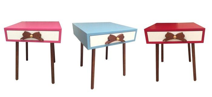 【木星生活創坊】蝴蝶點心桌 床邊桌 裝飾 收納 小茶几