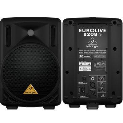 【名人樂器全館免運】Behringer 耳朵牌 Powered Speaker B208D 主動式喇叭