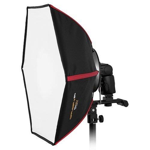 呈現攝影-韓國 SMDV Diffuser-50 專業快收六角柔光罩 50*50 外閃型專用 無影罩 碳纖骨 攝影棚