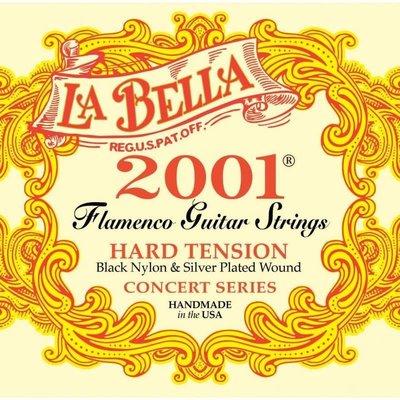 【旅行吉他专门店】La Bella 2001FH 2001 古典吉他弦 尼龙弦 高张力 Flamenco 佛拉门哥弦