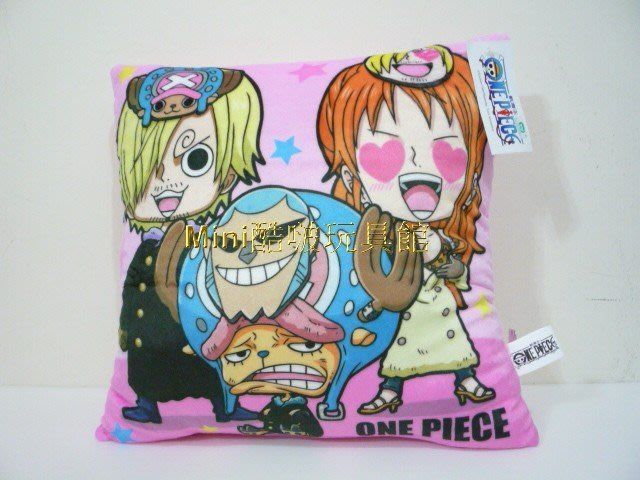 Mini酷啵玩具館~  ONE PIECE 航海王 海賊王 ~喬巴 魯夫 娜美 索龍 抱枕
