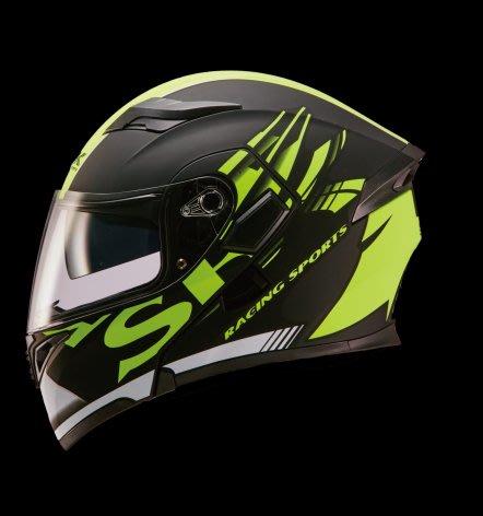 (華特部品)國產帽之光SBK 最新汽水帽SV 賽車級安全防護 消黑黃 SHOEI ARAI SOL OGK