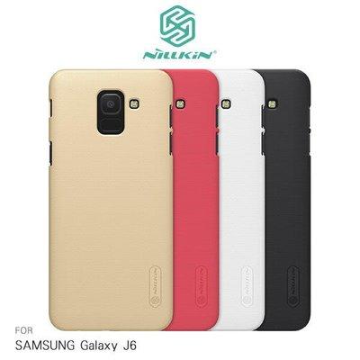 *phone寶*NILLKIN SAMSUNG Galaxy J6 超級護盾保護殼 保護殼 手機殼 防指紋磨砂 硬殼