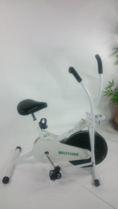 [兄弟牌運動器材]調速風扇健身車台灣製造品質保證,手臂雕塑,腳部健肌力,強化膝關節,BROTHER運動健身車 !