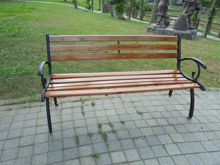 歐式米蘭典雅雙人鑄鐵公園 長椅~公園休憩椅,直購免運!!兄弟牌休閒傢俱