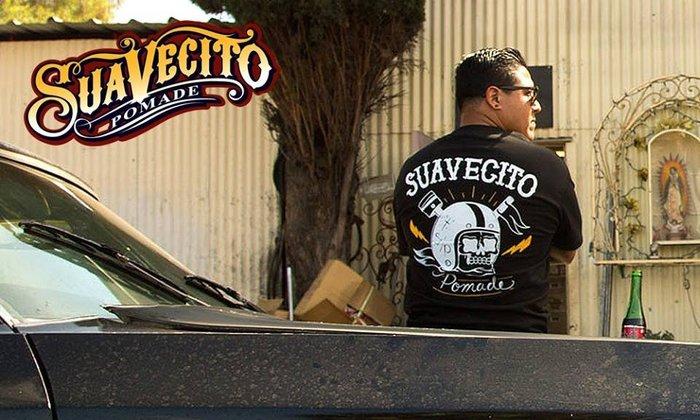 GOODFORIT / 加州造型品牌Suavecito Bobber T-Shirt美式Bobber重機主題