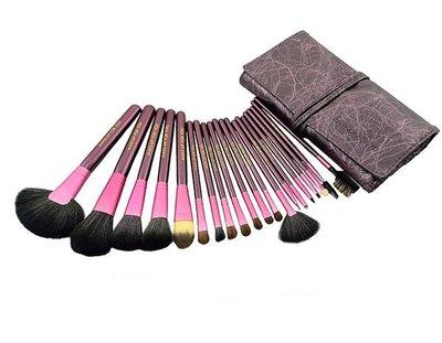 【愛來客 】紫色高質感20件彩妝刷具組 乙丙級考試專用刷具化妝刷批發(現貨)