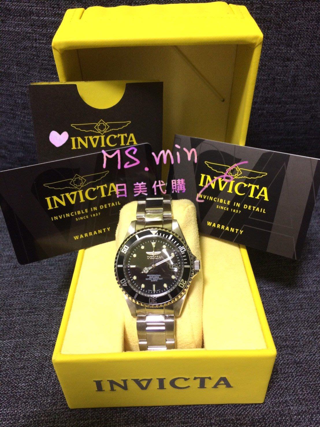 現貨美國代購Invicta 8932OB Pro Diver潛水錶 男錶 石英錶