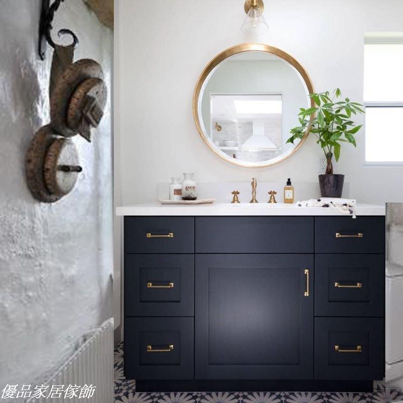 北歐現代大理石實木落地型浴室櫃/簡約時尚浴室大理石洗手台/實木洗臉盆