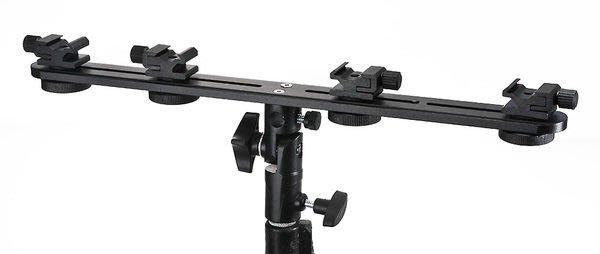 呈現攝影-四閃燈傘座/關結 可上4支閃燈 閃光燈支架 高速攝影柔光傘/反光傘 離機閃 canon 580