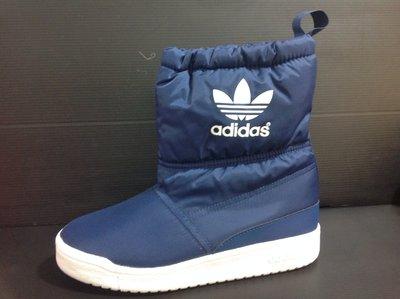 adidas 爱迪达 雪靴 小腿靴 短靴 运动靴 内部毛呢材质 有防泼水设计 《亲子款》21cm~25cm