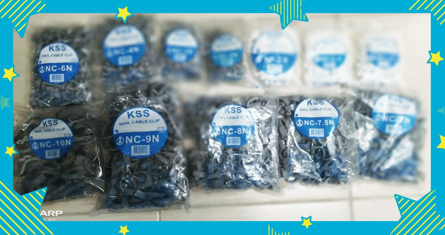 KSS 7號固定夾,水管固定夾,電線電纜固定夾,塑膠管固定夾。