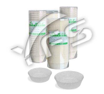 油力士紙杯4327(白) (烘焙紙杯/蛋糕紙杯/杯子蛋糕/發糕/甜點襯底)