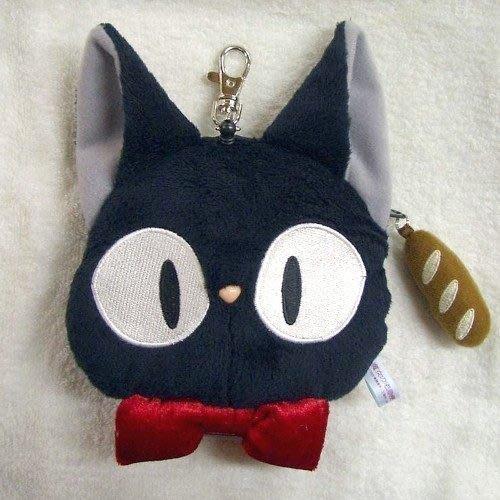 尼德斯Nydus~* 日本正版 宮崎駿 魔女宅急便  黑貓吉吉 可伸縮 悠遊卡 證件套 小零錢包