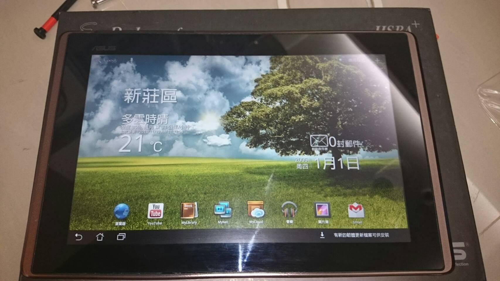 近全新 10吋 變型平板 asus Eee pad transformer tf101 附盒裝 鍵盤