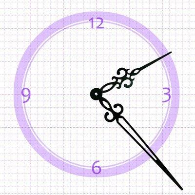 【鐘點站】H194130 SKP鎖針機芯指針 / DIY時鐘 掛鐘 鐘針 / 分針19.4公分 時針13公分