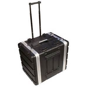 【六絃樂器】全新 Stander 航空瑞克箱 ABS GW8U 拉桿附輪二開機櫃 / 舞台音響設備 專業PA器材
