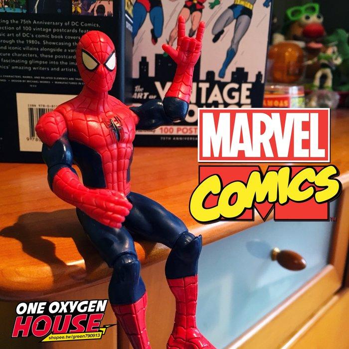 絕版 MARVEL Spider-Man 可動 蜘蛛人 鑰匙圈 吊飾 公仔 玩具 老品 老玩具 復古 復仇者聯盟 漫威