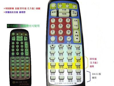 JETKTV將電腦變成卡啦OK點唱機 去人聲伴唱 語系點歌 升降KEY USB遙控器JK800A型