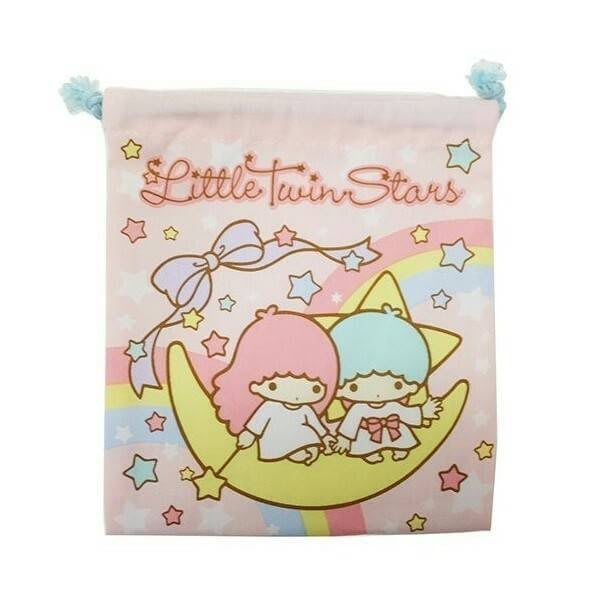 雙星仙子 束口袋 縮口袋 正日版 雙子星 Little Twin Stars kikila