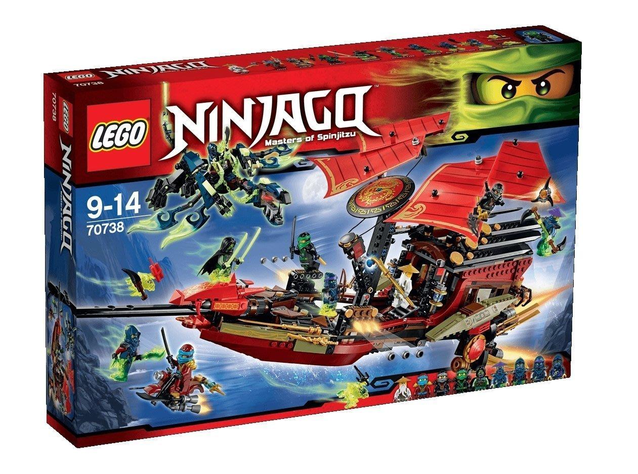 gaga玩具城 Lego 樂高 #70738 忍者系列 Ninjago 旋風忍者 使命號之最終決戰 積木
