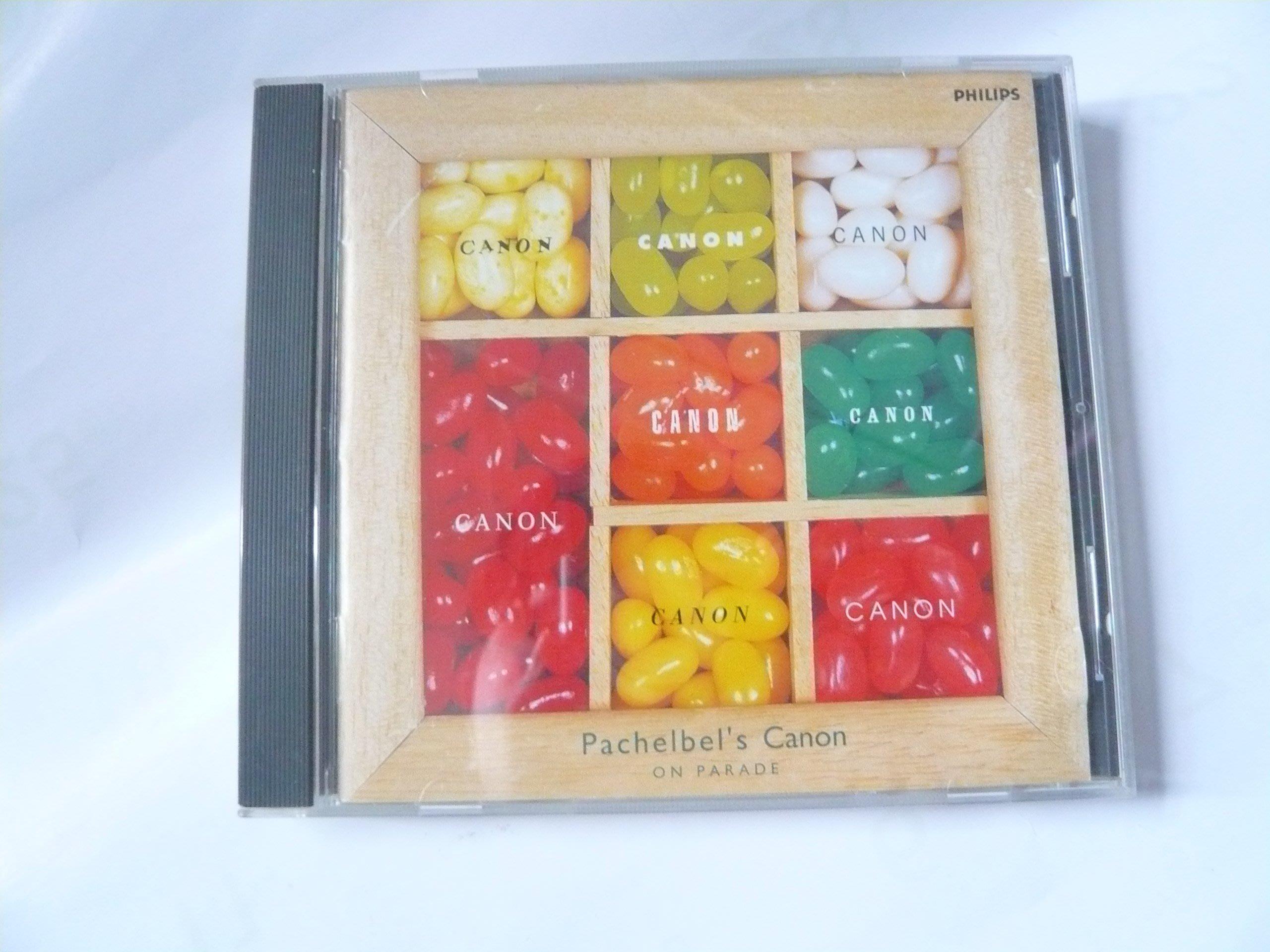 絕版古典CD 日本製 Pachelbel's Canon On Parade卡農 結婚時婚禮音樂11曲 室內管弦樂團