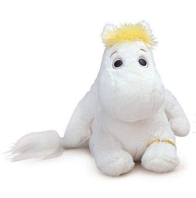 尼德斯Nydus~* 日本正版 嚕嚕米 Moomin 姆明 絨毛玩偶 娃娃 黃色頭髮 約20cm