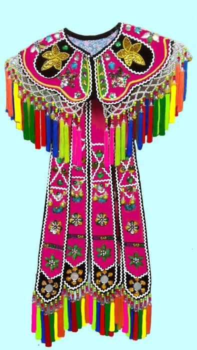 原住民手工藝品※民俗風..原住民台東服飾.阿美族服飾披肩.跳舞用衣服. 長裙短裙 上衣.情人袋,阿美族公主花