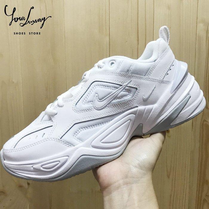 【Luxury】Nike M2K Tekno Phantom AO3108-001 老爹鞋 白灰 米白 厚底 增高 男女