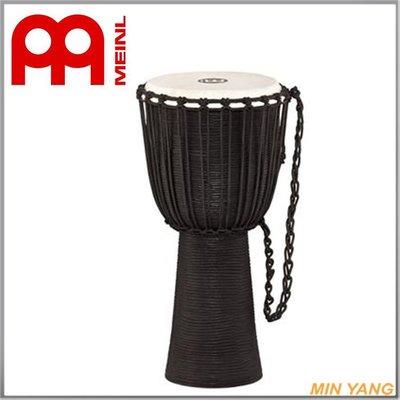 【民揚樂器】『免運優惠』 MEINL djembes HDJ3-L 非洲鼓 金杯鼓 12吋 黑『公司貨附發票』