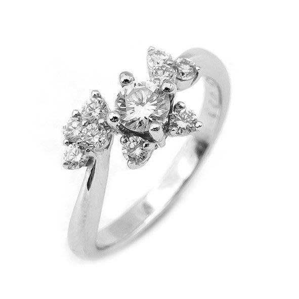 【JHT 金宏總珠寶/GIA鑽石專賣】0.23ct天然鑽石戒指/材質:18K(D000192)