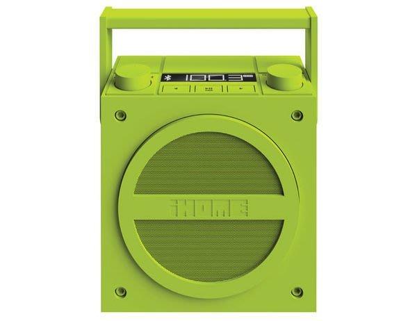 iHome - iBT4無線藍牙可攜式收音機喇叭【數位王】